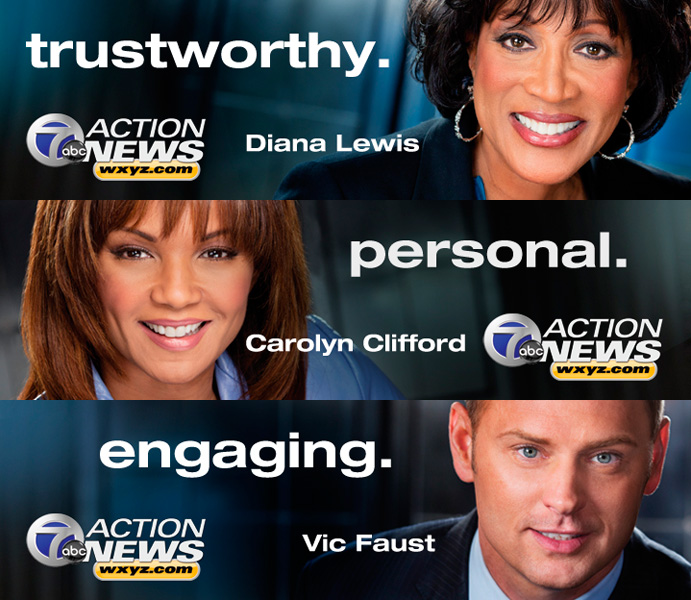 Diana Lewis Carolyn Clifford Vic Faust ABC 7 Action News WXYZ.com
