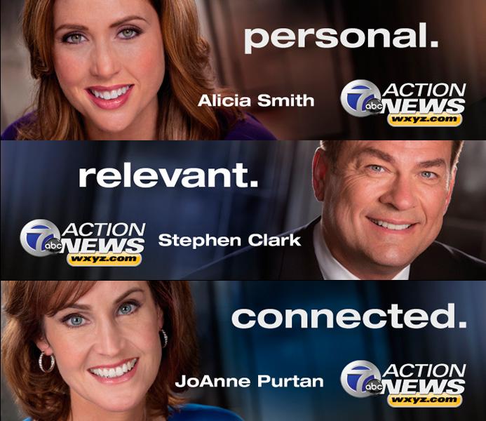 Alicia Smith Stephen Clark JoAnne Purtan ABC Channel 7 Action News WXYZ.com