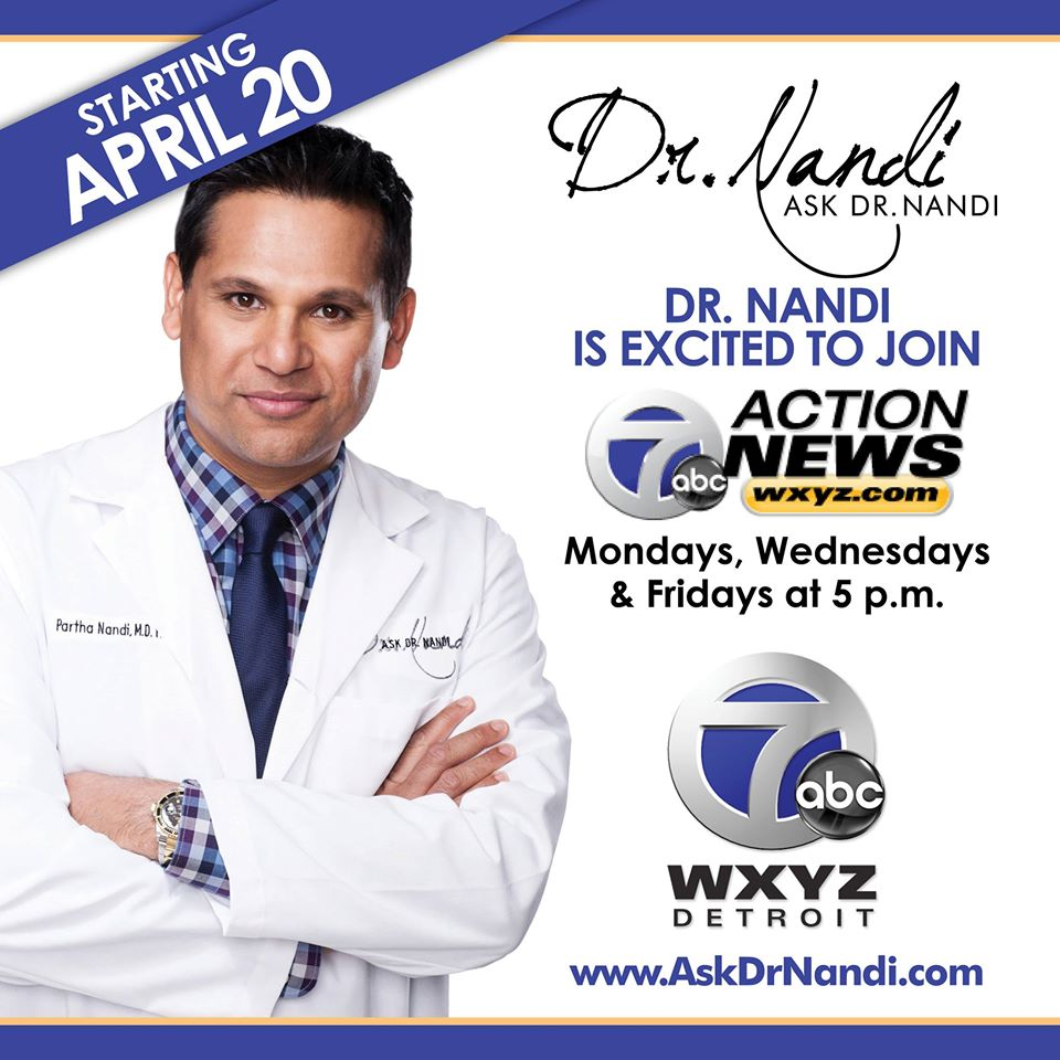 Dr. Partha Nandi, M.D. Chief Health Editor WXYZ Channel 7, Ask Dr. Nandi on Impact Network